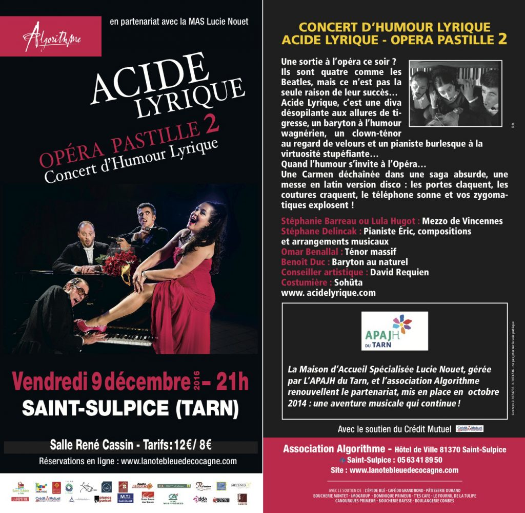 concert acide lyrique saint-sulpice